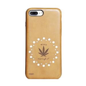 Купить Чехол из натуральной кожи d-park Vintage Weed для iPhone 7 Plus/8 Plus