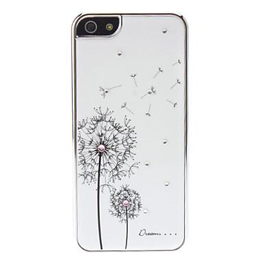 Чехол Dandelion SWAROVSKI для iPhone 5/5S/SE
