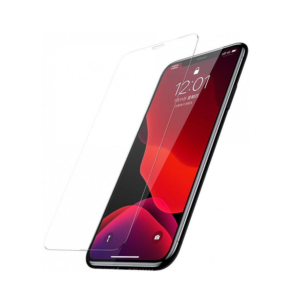 Купить Защитное стекло Baseus Tempered Glass Film Transparent для iPhone 11 Pro (в комплекте 2 шт.)