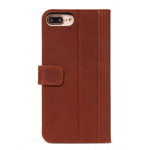 Купить Кожаный чехол-книжка Decoded 2-in-1 Wallet Case Brown для iPhone 8 Plus/7 Plus/6s Plus/6 Plus