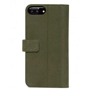 Купить Кожаный чехол-книжка Decoded 2-in-1 Wallet Case Olive Green для iPhone 8 Plus/7 Plus/6s Plus/6 Plus