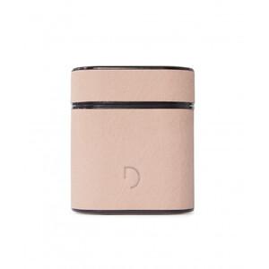 Купить Кожаный чехол с карабином Decoded Aircase Sahara Pink для AirPods