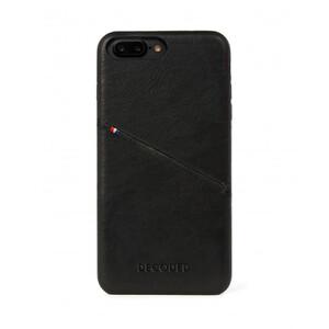 Купить Кожаный чехол с отделением для карт Decoded Back Cover Black для iPhone 8 Plus/7 Plus/6s Plus/6 Plus