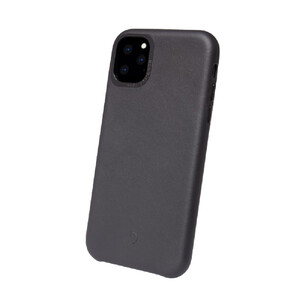 Купить Кожаный чехол Decoded Back Cover Black для iPhone 11 Pro Max