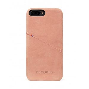 Купить Кожаный чехол с отделением для карт Decoded Back Cover Rose для iPhone 8 Plus/7 Plus/6s Plus/6 Plus