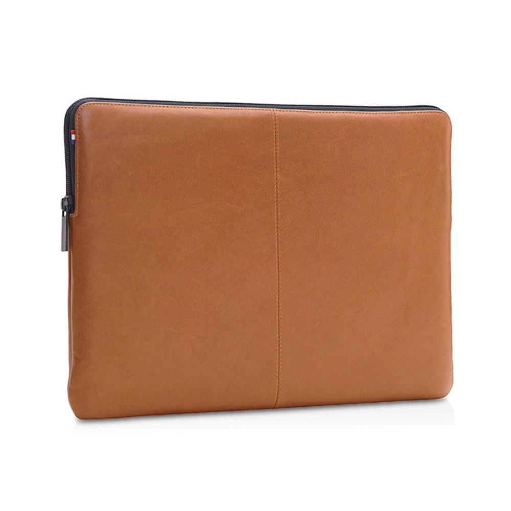 "Купить Кожаный чехол-сумка Decoded Basic Slim Sleeve Brown для MacBook Pro 16"" | Pro 15"" with Touch Bar (2016-2017)"