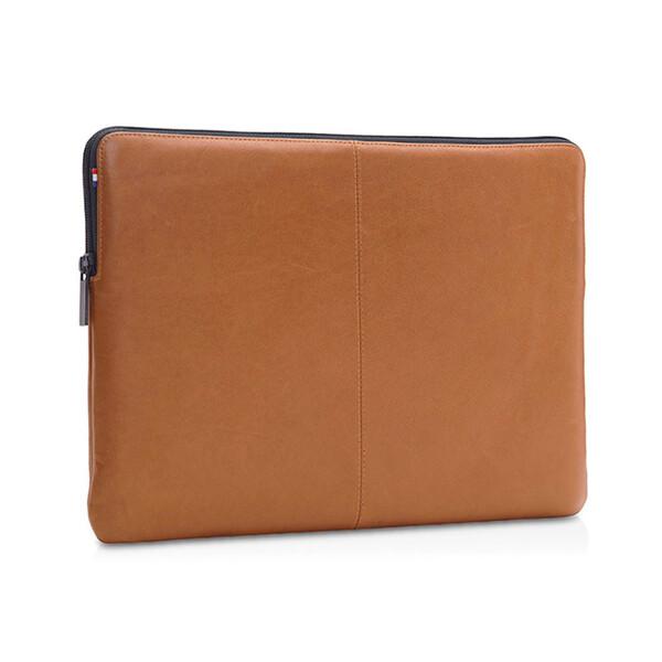 "Кожаный чехол-сумка Decoded Basic Slim Sleeve Brown для MacBook Pro 16""   Pro 15"" with Touch Bar (2016-2017)"