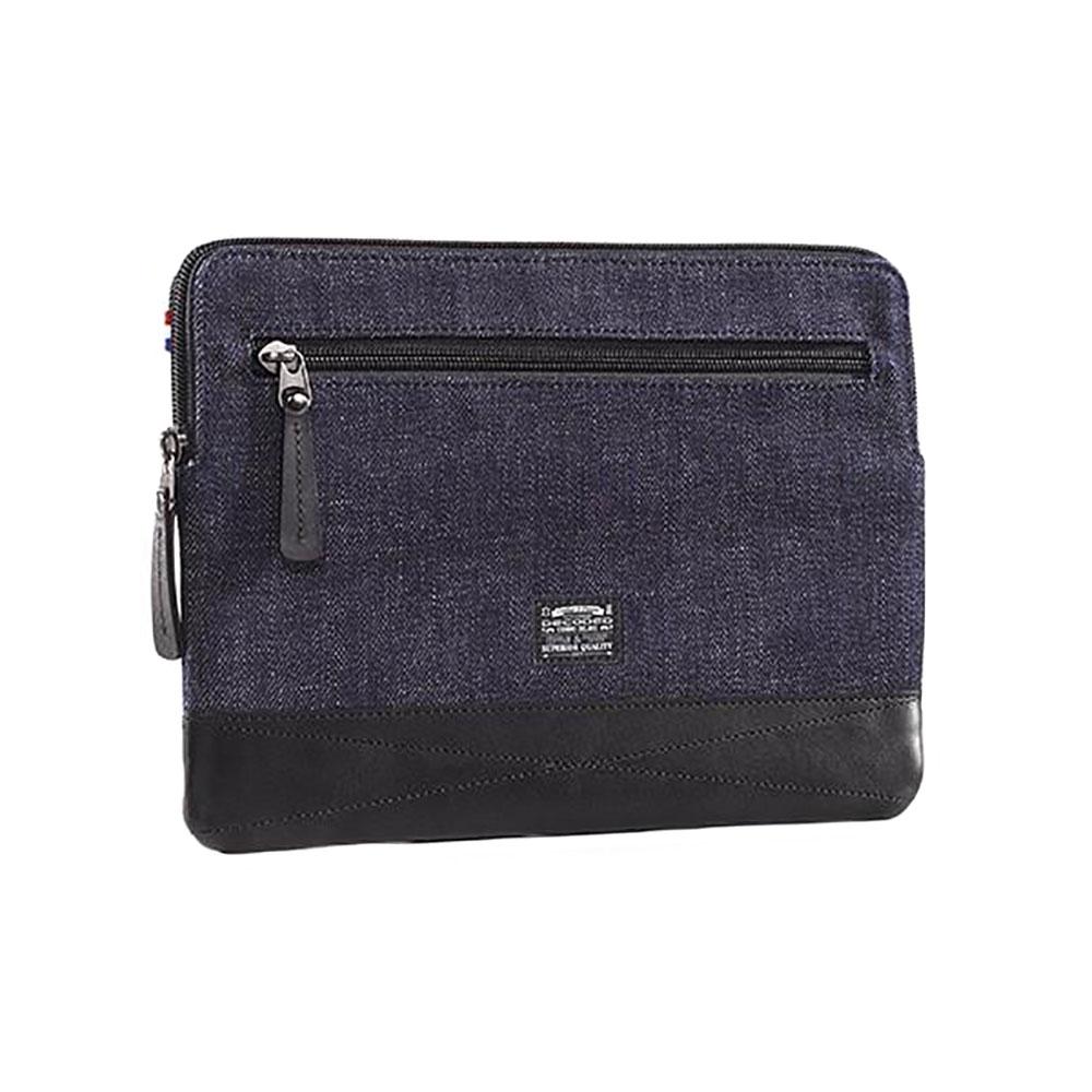 "Купить Чехол-сумка Decoded Denim Slim Sleeve Blue | Black для iPad Air | Air 2 | Pro 9.7"""
