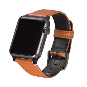 Купить Кожаный ремешок Decoded Leather Strap Brown для Apple Watch 38mm/40mm Series 5/4/3/2/1