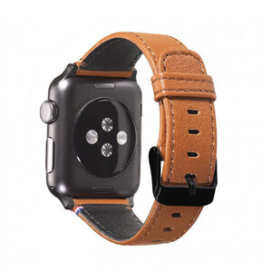 Купить Кожаный ремешок Decoded Leather Strap Brown для Apple Watch 38mm/40mm Series 5/4/3/2/1