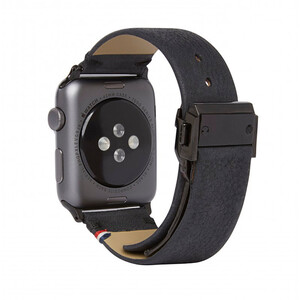 Купить Кожаный ремешок Decoded Leather Strap Black для Apple Watch 42mm/44mm Series 5/4/3/2/1
