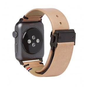 Купить Кожаный ремешок Decoded Leather Strap Sahara для Apple Watch 42mm/44mm Series 5/4/3/2/1