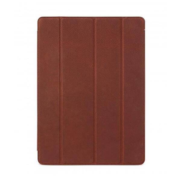 "Кожаный чехол Decoded Slim Cover Brown для iPad Pro 12.9"""