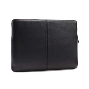 """Купить Кожаный чехол-сумка Decoded Slim Sleeve Black для MacBook 12""""/Air 11"""""""