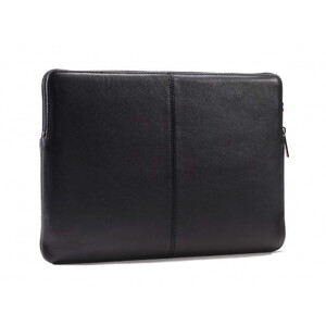 "Купить Кожаный чехол-сумка Decoded Slim Sleeve Black для MacBook 12""/MacBook Air 11"""