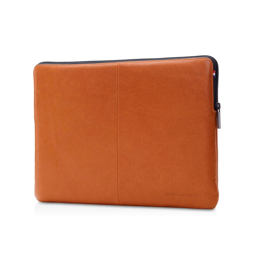 "Купить Кожаный чехол-сумка Decoded Slim Sleeve Brown для MacBook 12"" | Air 11"""