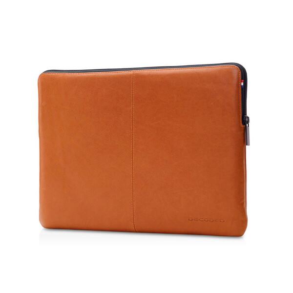 "Кожаный чехол-сумка Decoded Slim Sleeve Brown для MacBook 12"" | Air 11"""