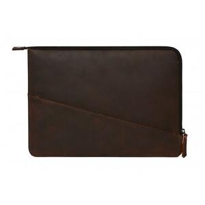 "Купить Кожаный чехол-сумка Decoded Waxed Slim Sleeve Brown для MacBook Pro 13"" (2016/2017/2018)"