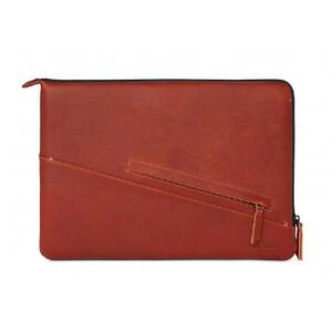 "Купить Кожаный чехол-сумка Decoded Slim Sleeve Brown для MacBook Pro 13"" Retina/MacBook Pro 13"" with Touch Bar (2016/2017/2018)"