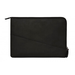 "Купить Кожаный чехол-сумка Decoded Waxed Slim Sleeve Black для MacBook Pro 13"" (2016/2017)"