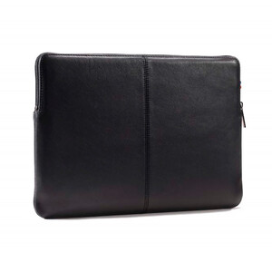 Купить Кожаный чехол-сумка Decoded Basic Slim Sleeve Black для MacBook Pro 16''/Pro 15'' with Touch Bar (2016-2017)