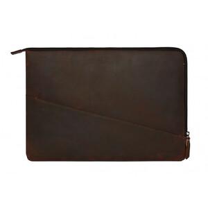 "Купить Кожаный чехол-сумка Decoded Waxed Slim Sleeve Brown для MacBook Pro 15"" with Touch Bar (2016-2017)"