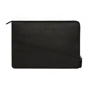 "Купить Кожаный чехол-сумка Decoded Waxed Slim Sleeve Black для MacBook Pro 15"" with Touch Bar (2016-2017)"