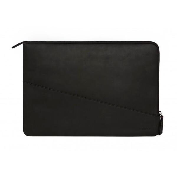"Кожаный чехол-сумка Decoded Waxed Slim Sleeve Black для MacBook Pro 16""   Pro 15"" with Touch Bar (2016-2017)"