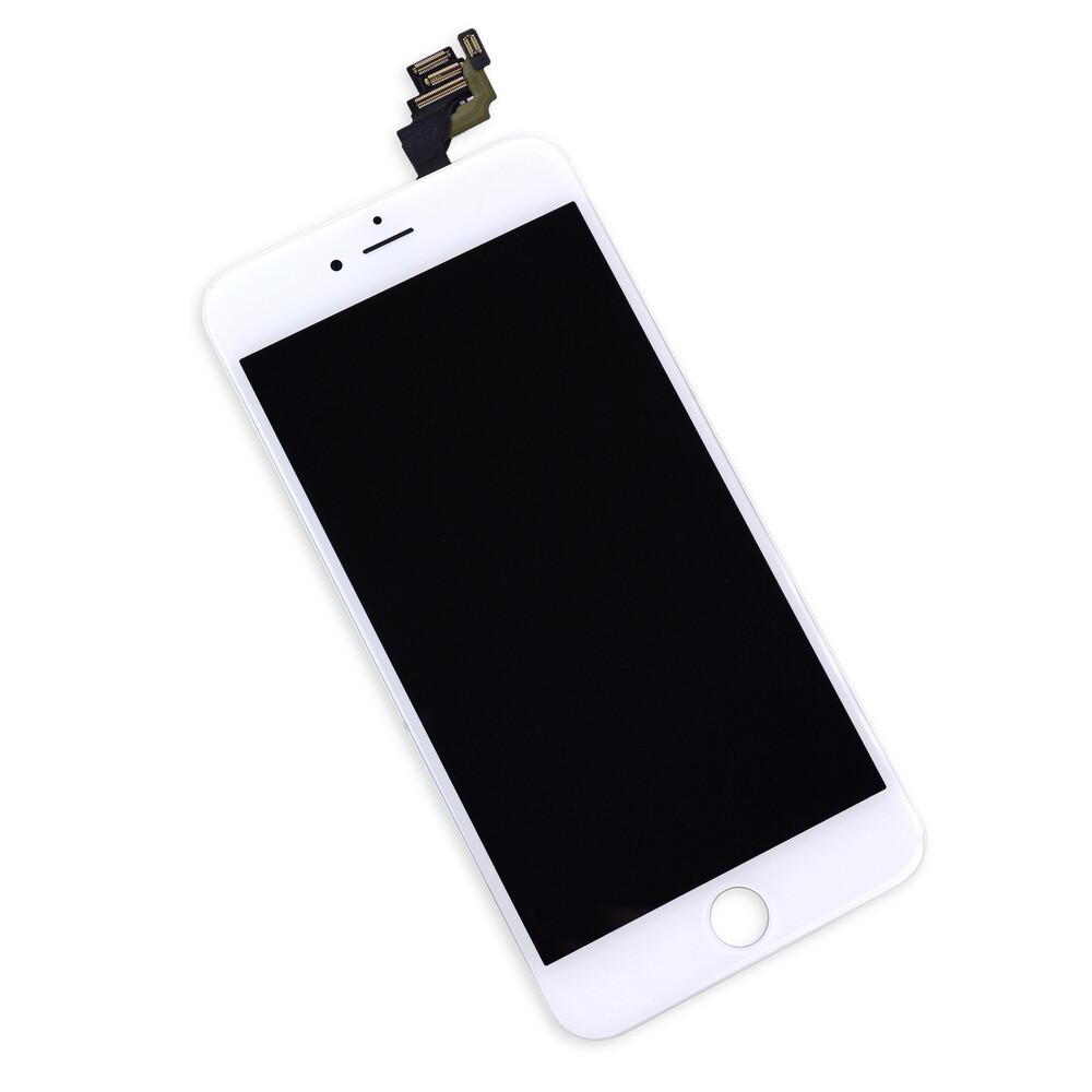 Белый LCD дисплей для iPhone 6 Plus