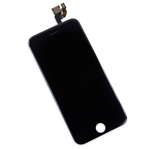 Дисплей с тачскрином (оригинал, черный) для iPhone 6