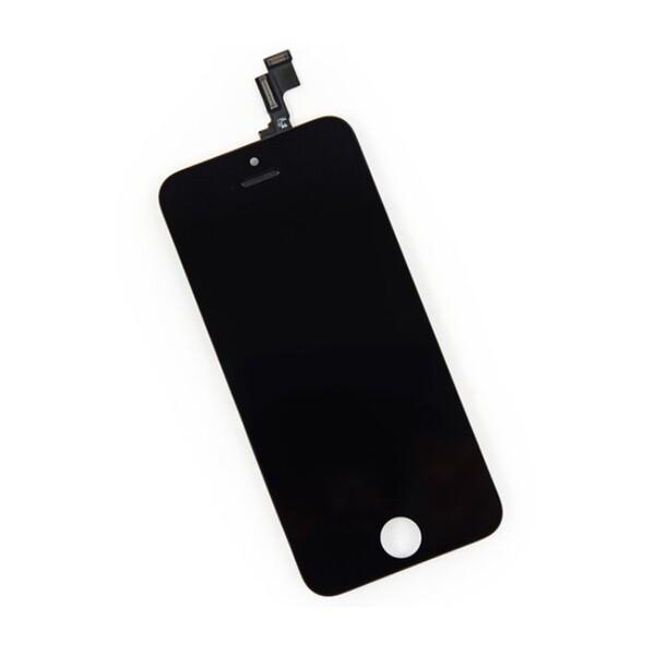 Дисплей с тачскрином (оригинал, черный) для iPhone SE