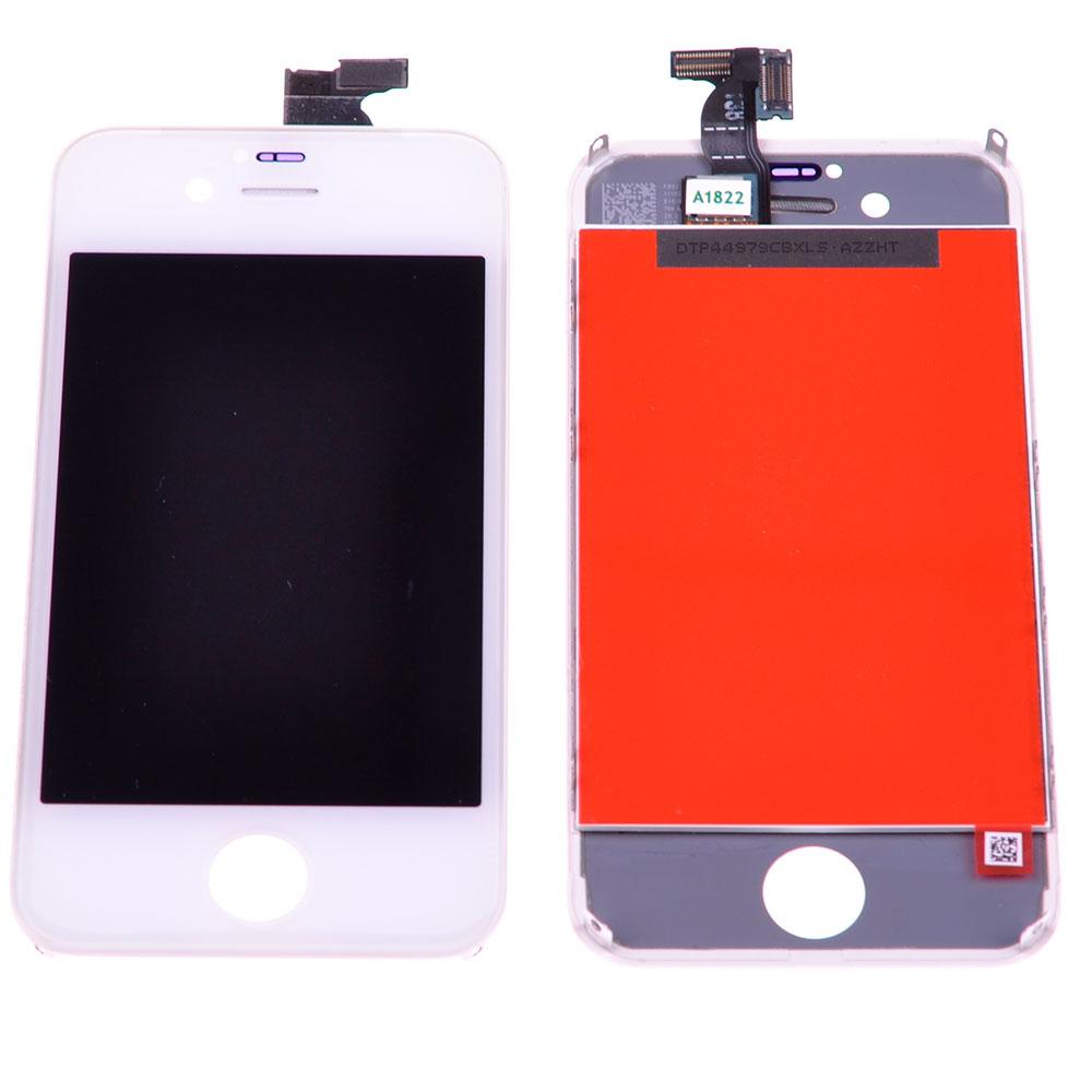 Купить Дисплей с тачскрином (оригинал, белый) для iPhone 4s