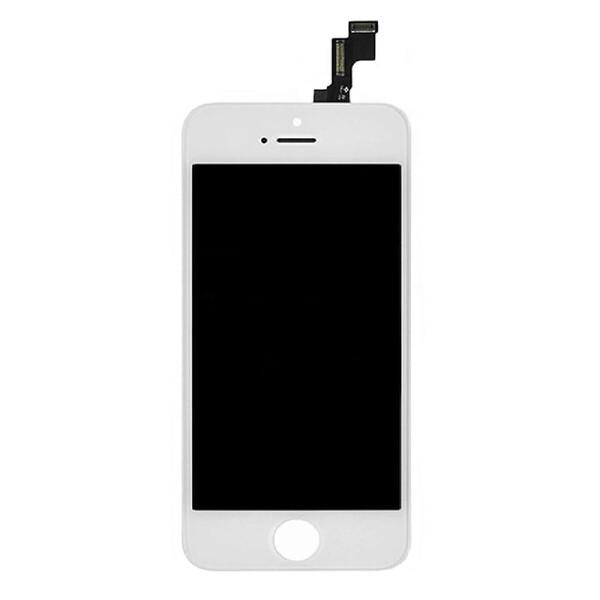 Дисплей с тачскрином (оригинал, белый) для iPhone 5c