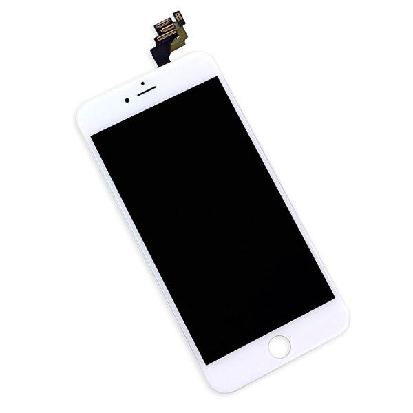Дисплей с тачскрином (оригинал, белый) для iPhone 6