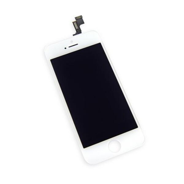 Дисплей с тачскрином (оригинал, белый) для iPhone SE