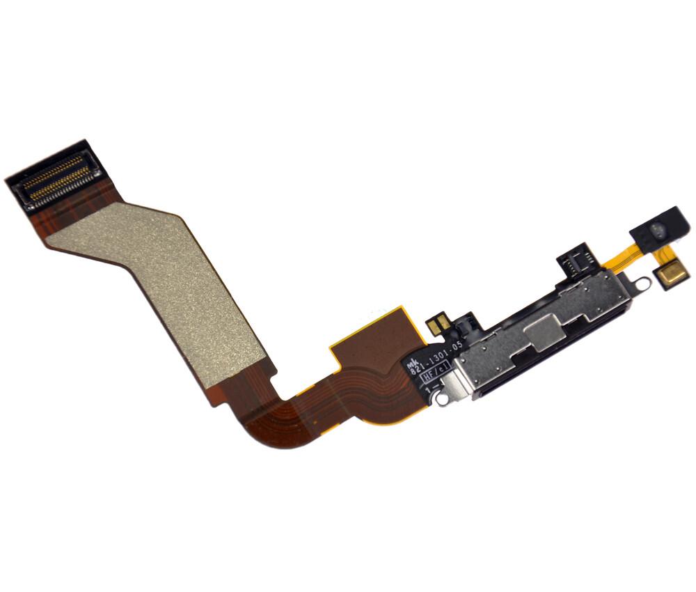 Шлейф с разъемом зарядки для iPhone 4S