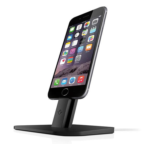 Док-станция Twelve South HiRise Black для iPhone | iPad mini