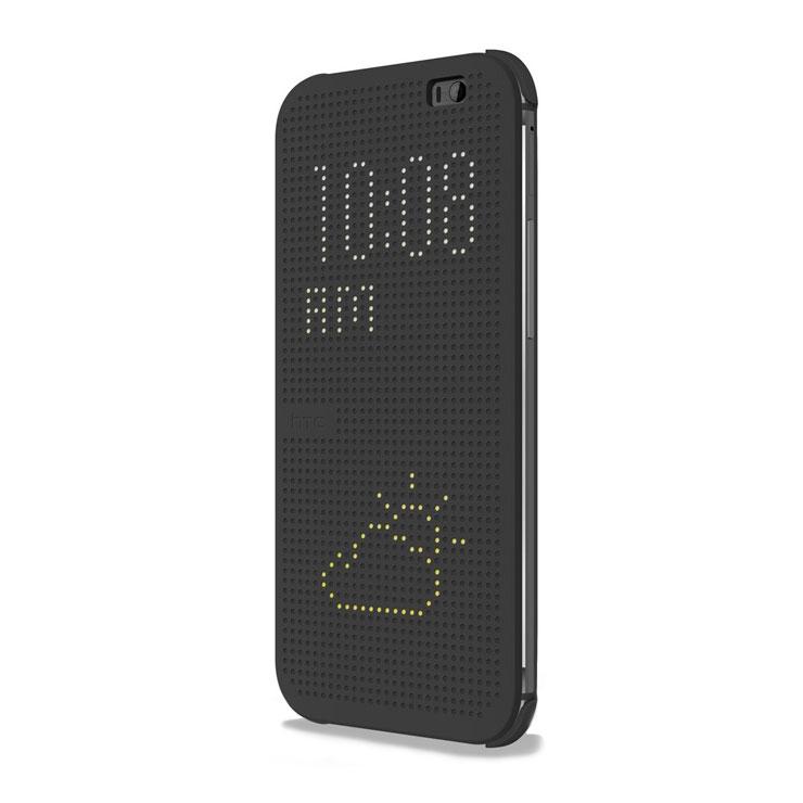 Купить Чехол HTC Dot View Grey для HTC One E8