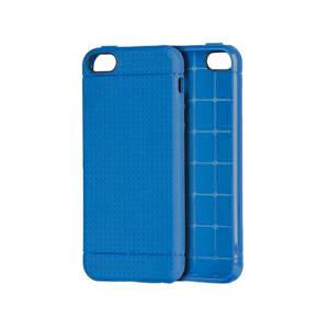Купить Ультратонкий темно-синий TPU чехол Dots Pattern для iPhone 5/5S/SE