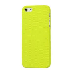 Купить Пластиковый желтый чехол Dots для iPhone 5/5S/SE