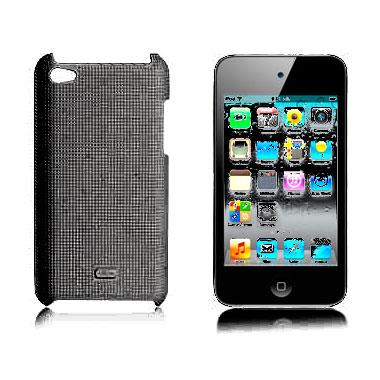 Чехол iLoungeMax Dotted Black для iPod Touch 4