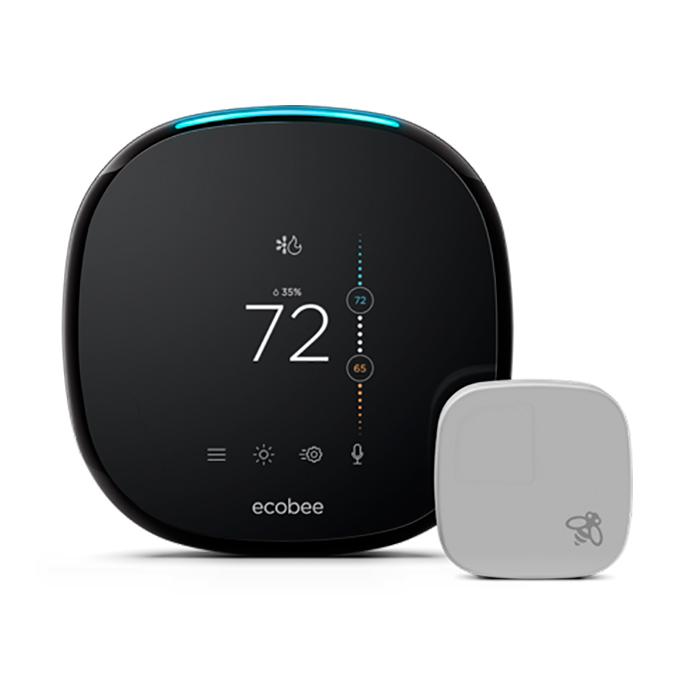 Купить Умный термостат ecobee4 Smart Wi-Fi Thermostat + Room Sensor