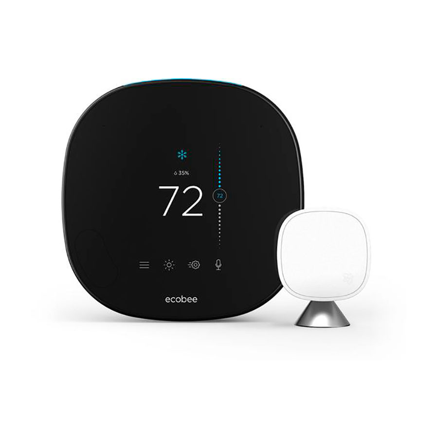 Купить Умный термостат ecobee5 Smart Wi-Fi Thermostat Pro + Room Sensor