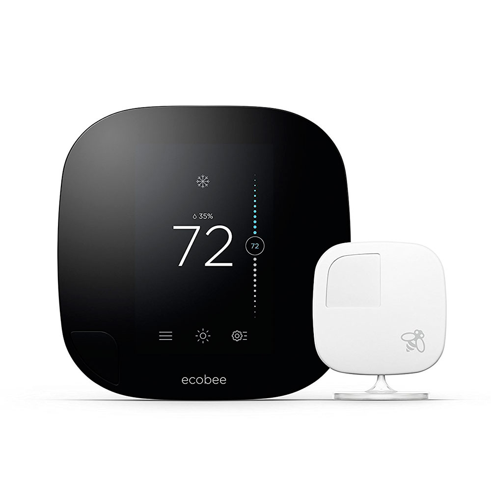 Купить Умный термостат ecobee3 Smart Wi-Fi Thermostat + Room Sensor