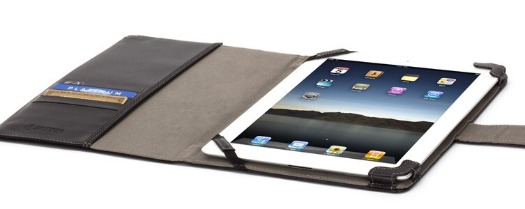 Чехол GRIFFIN Elan Passport Black для iPad 2/3/4
