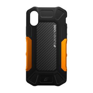 Купить Противоударный чехол-накладка Element Case FORMULA Black/Orange для iPhone X/XS