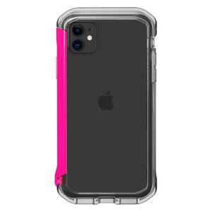 Купить Противоударный бампер Element Case Rail Clear | Flamingo Pink для iPhone 11