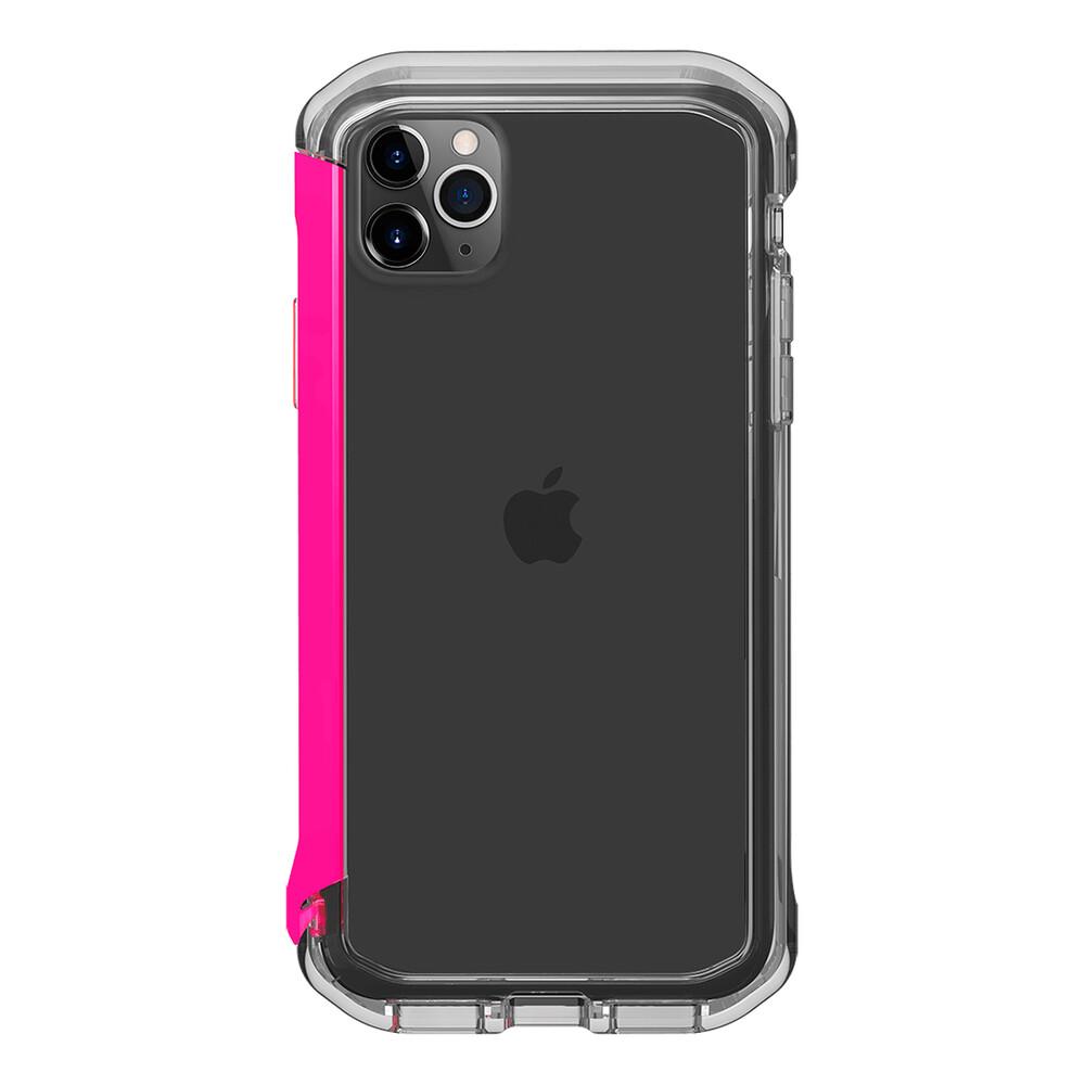 Купить Противоударный бампер Element Case Rail Clear   Flamingo Pink для iPhone 11 Pro