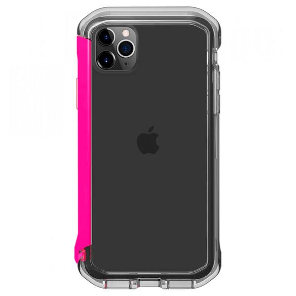 Противоударный бампер Element Case Rail Clear   Flamingo Pink для iPhone 11 Pro Max