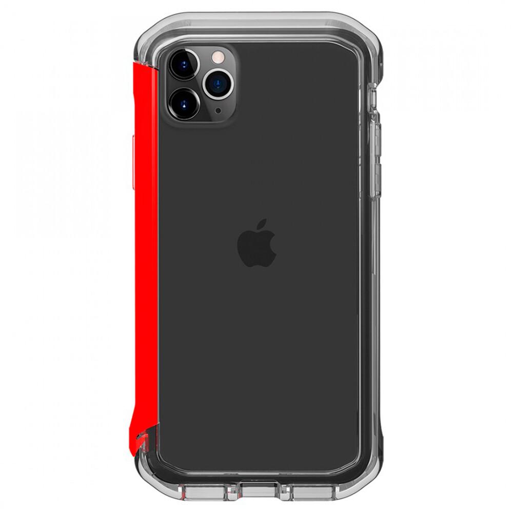 Противоударный бампер Element Case Rail Clear | Red для iPhone 11 Pro Max